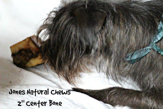 Good dogs get Jones Natural Chews all natural bones