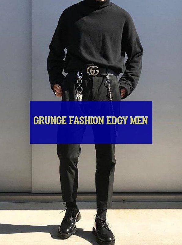 20 more grunge fashion edgy men   grunge mode nervöse männer #Drawingfashionmen #Sweaterfashionmen grunge fashion edgy men   Elegant fashion men. Bu…