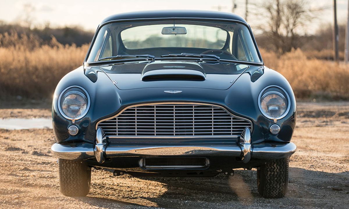 007 would approve of this 1965 aston martin db5. from q-branch to