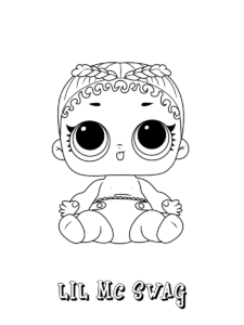 lol surprise coloring pages | print and color in 2020