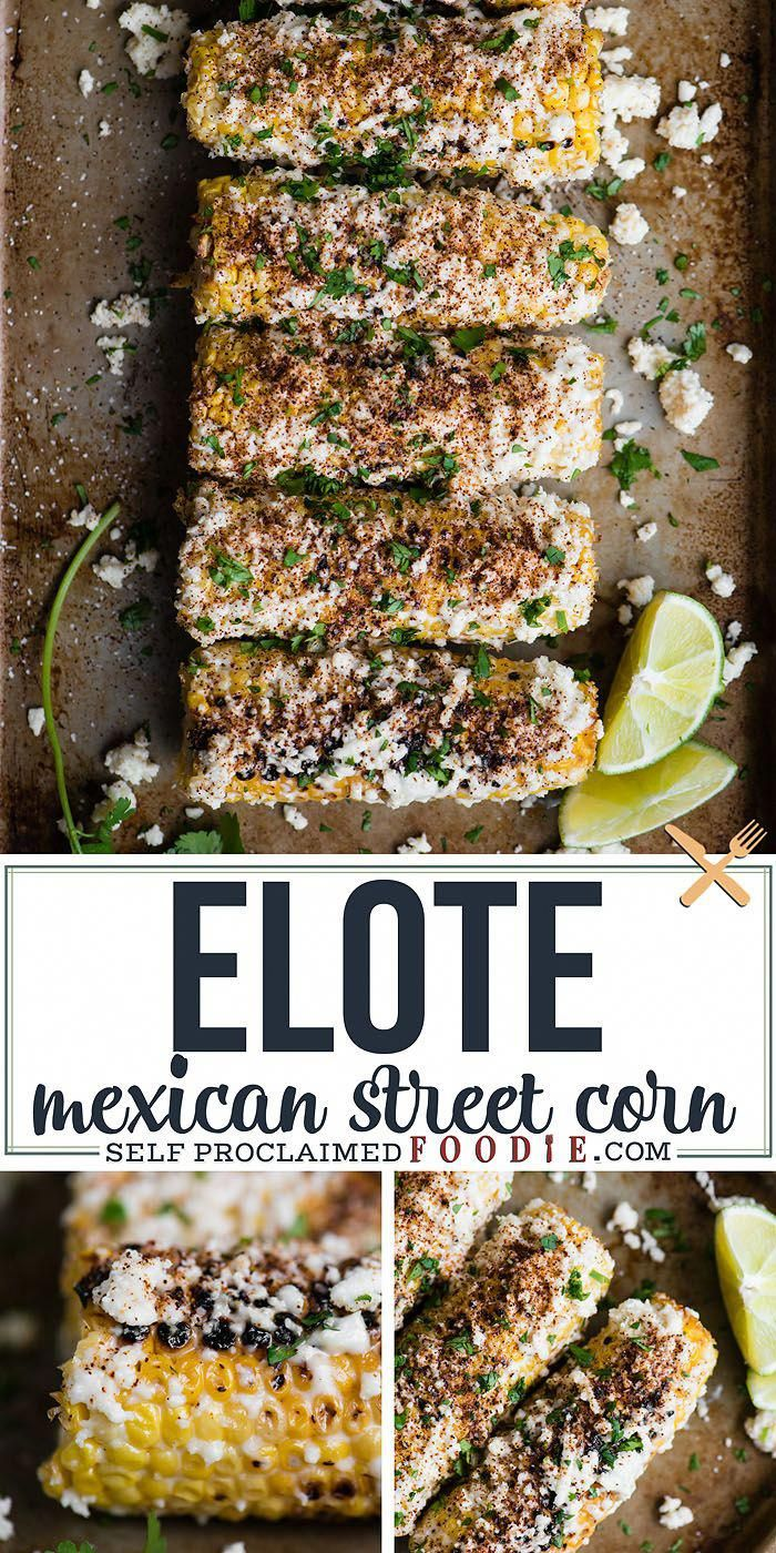 Elote, also known as Mexican Street Corn, is a mouthwatering recipe that combines grilled corn that's covered in sauce and topped with cheese and spices.