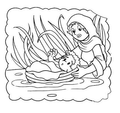 moses miriam exodus baby child children kid girl water nile river