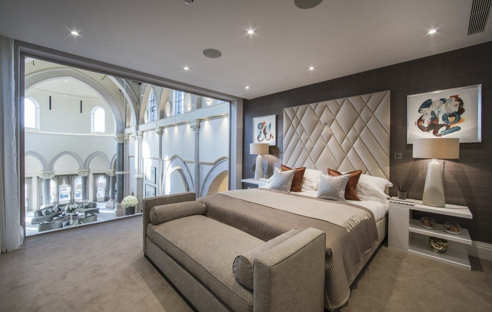 Mezzanine Bed Design luxury interior design the chapel mezzanine bedroom | bedroom