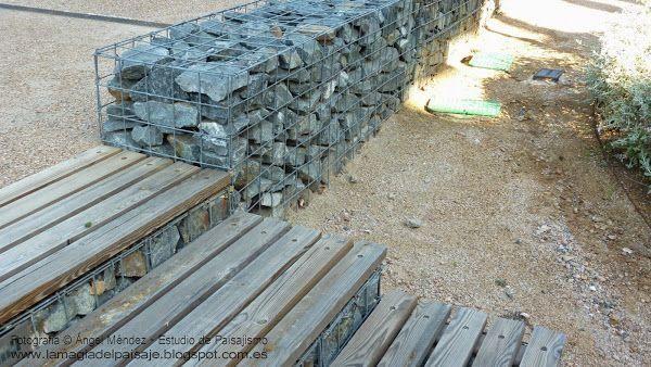 Soluciones sostenibles muros de gaviones Plantas RED facilisimo