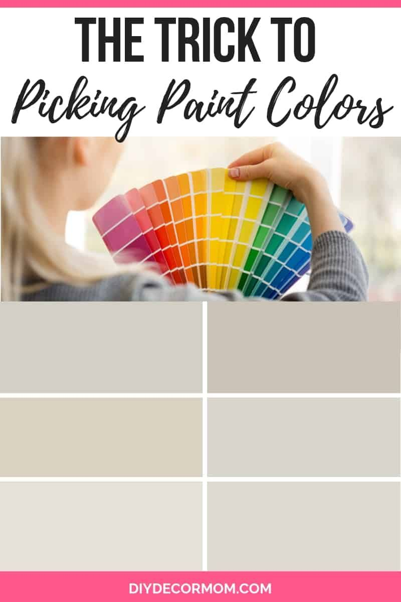 How to pick paint colors the trick to foolproof paint color picking see the cheat sheet and the best picks for your house painting paintcolors