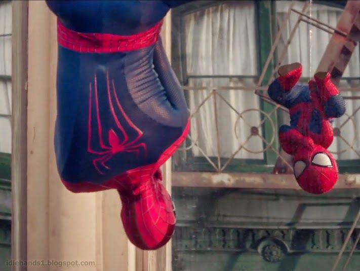 Spider-man vs. Spider-baby: DANCEOFF! #amazingspiderman2 #evian