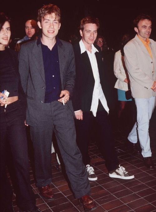 Justine Frischmann and Damon Albarn (Broken up)