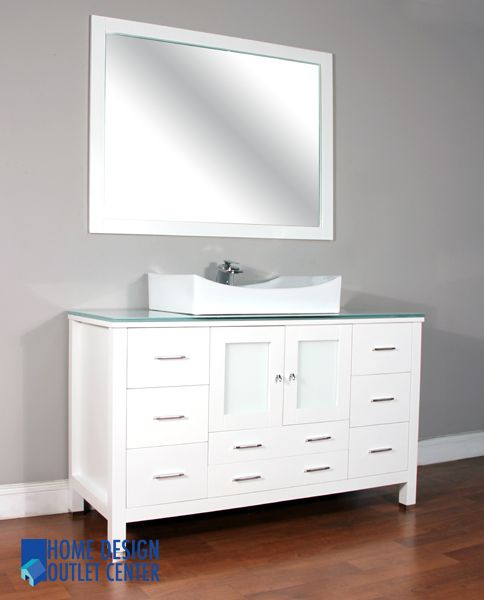 This Single Sink Bathroom Vanity Has The Cabinet Of Size 54 X 39 X