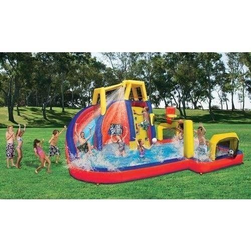 Inflatable Water Slides Park Volleyball Basketball Water Swim Banzai Bouncer New Inflatable Water Park Big Water Slides Inflatable Water Slide