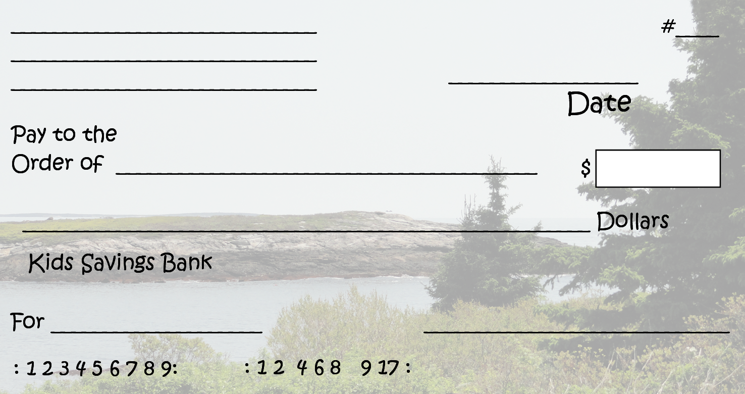 Help Children Learn How To Write Checks And Balance A
