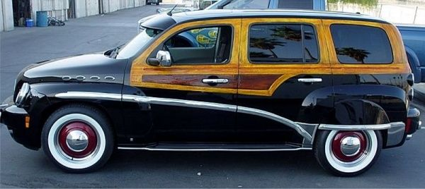 Chevrolet Hhr Converted To A Woody Wagon Awesome Chevy Hhr