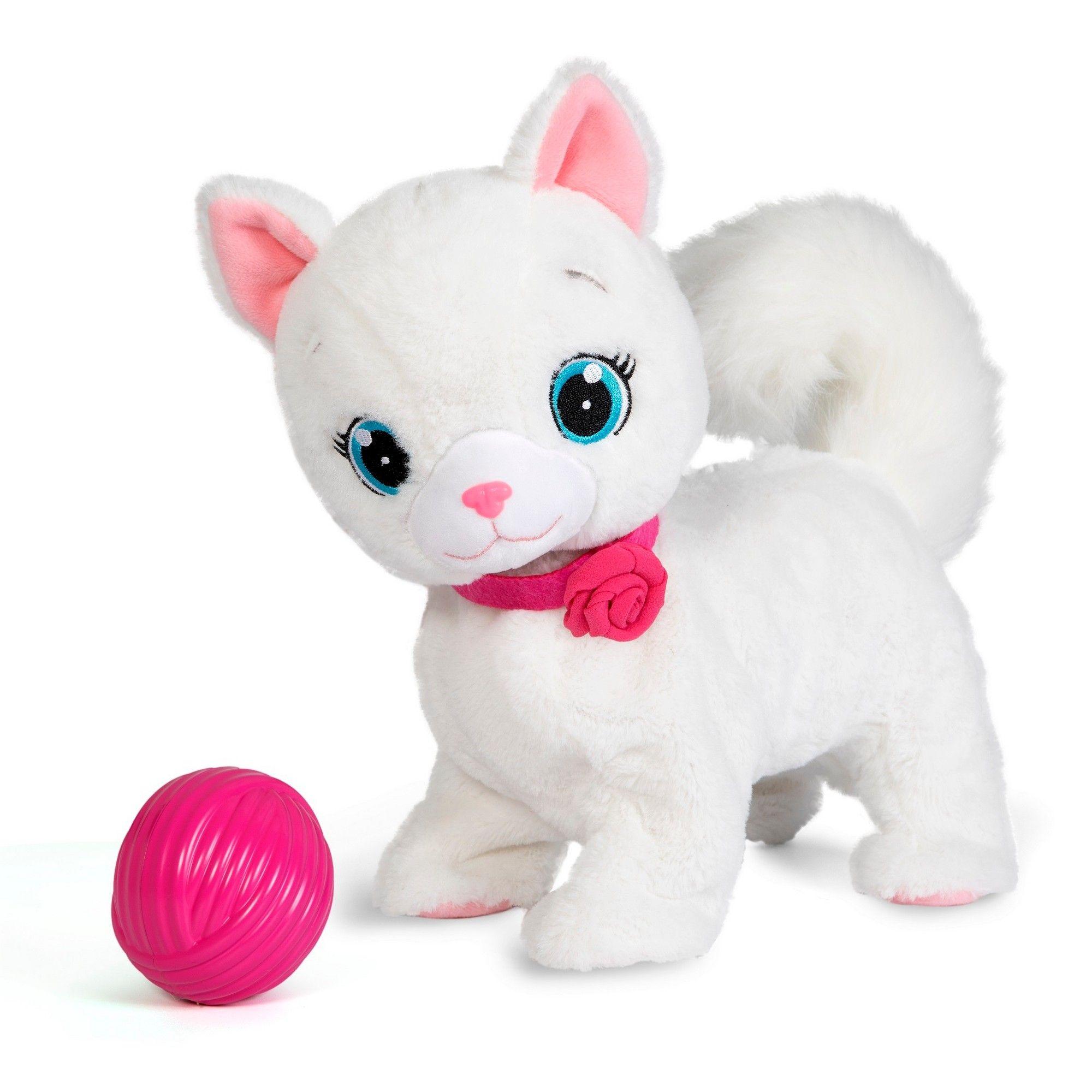 Club Petz Bianca Kitty Stuffed Animals And Plush Kitty Interactive Cat Toys Soft Toy