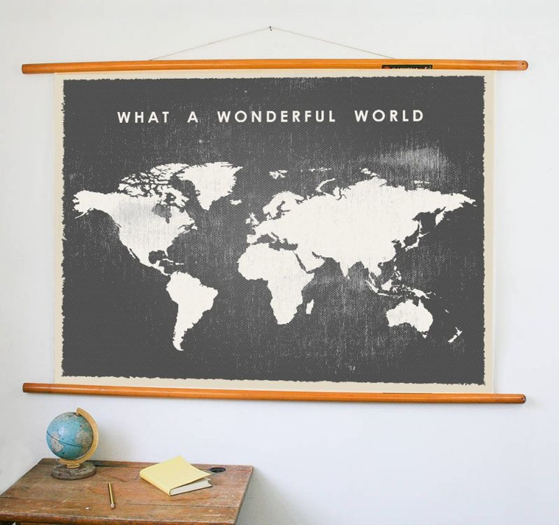 vintage wereldkaart poster | diy heaven | world map printable, world
