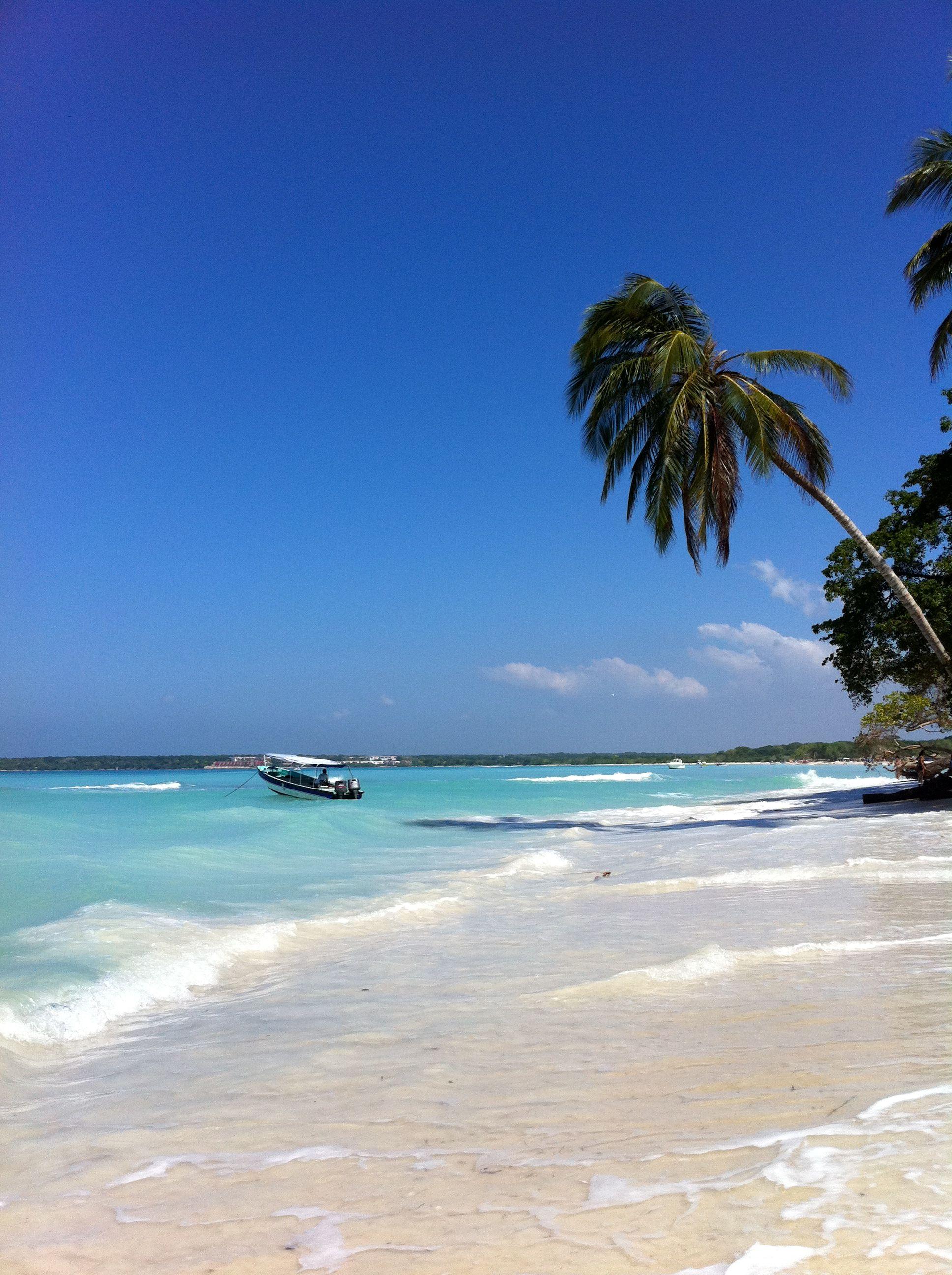 Playa Blanca, Barú Island, Columbia