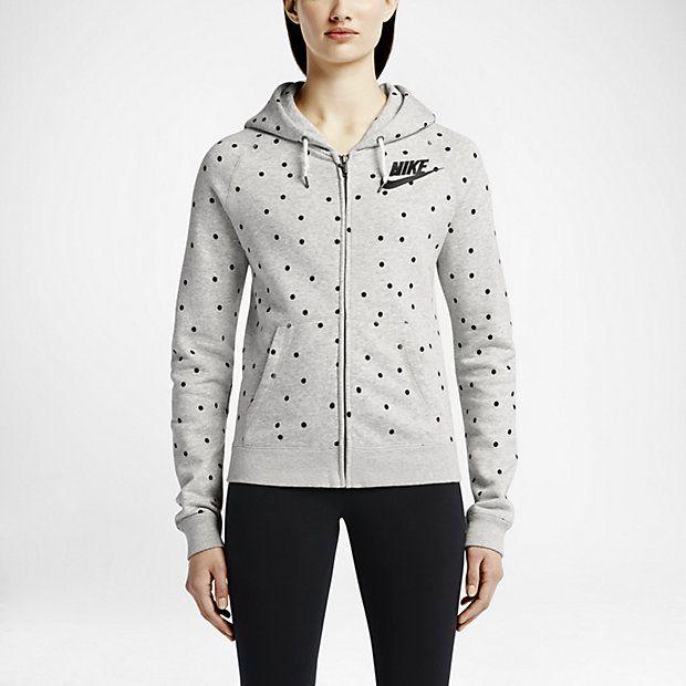 052f18581094 Nike Rally Full-Zip Allover Print Women s Hoodie