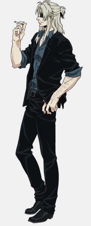 """Gangsta."" Anime Visual and Additional Character Designs"