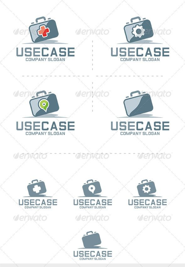 Use Case Logo — Vector EPS #logo #color • Available here → https://graphicriver.net/item/use-case-logo/3682308?ref=pxcr