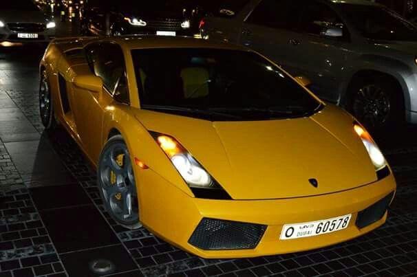 Lambo in Dubai