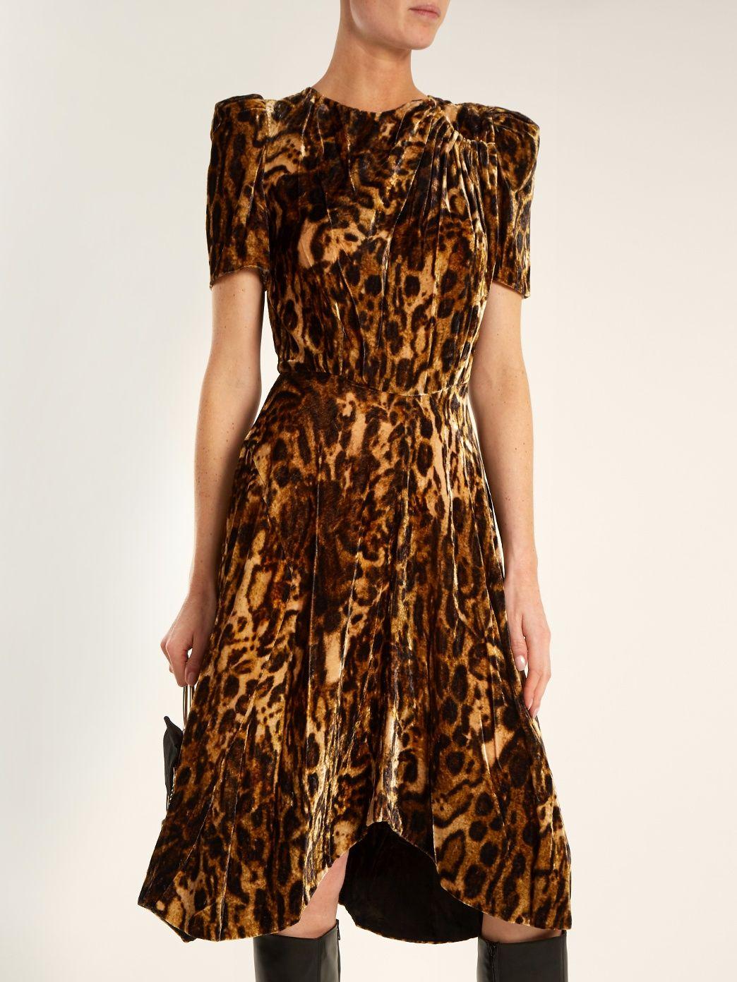 44e211d8e393 Click here to buy Isabel Marant Ulia leopard-print velvet dress at  MATCHESFASHION.COM