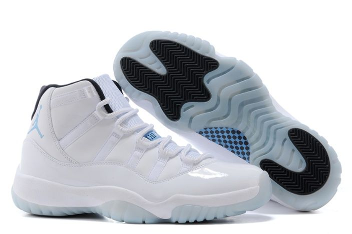 Nike Air Jordan XI 11 Retro Mens Shoes High All White Special