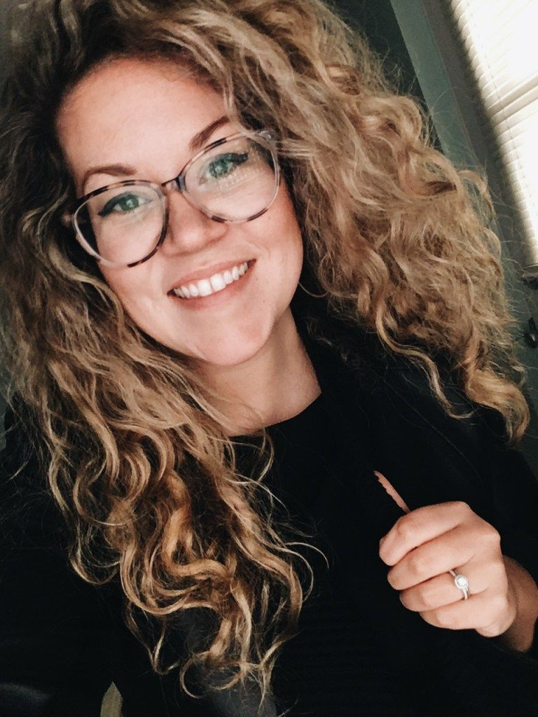 Daily Haircare Routine For Natural Curls Blonde Hair With