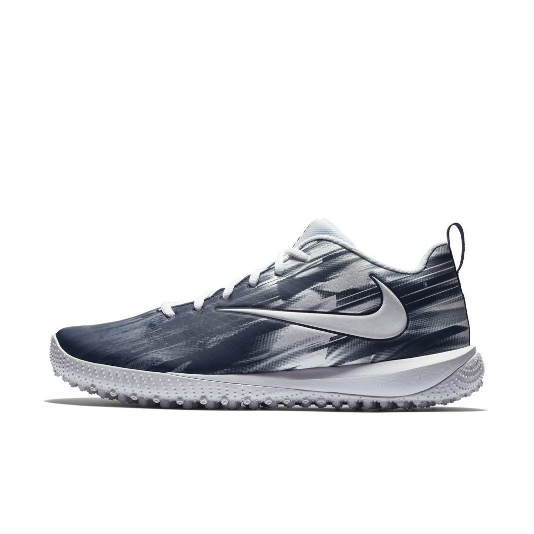 c79722e79fa Nike Vapor Varsity Low Turf LAX Lacrosse Shoe Size 15 (White)