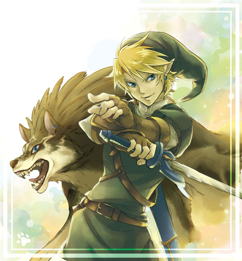 Wolf Link, Link from Zelda Twilight Princess Legend
