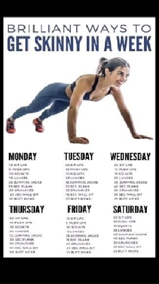 Best Weight Loss Related Tips And Workout Plan