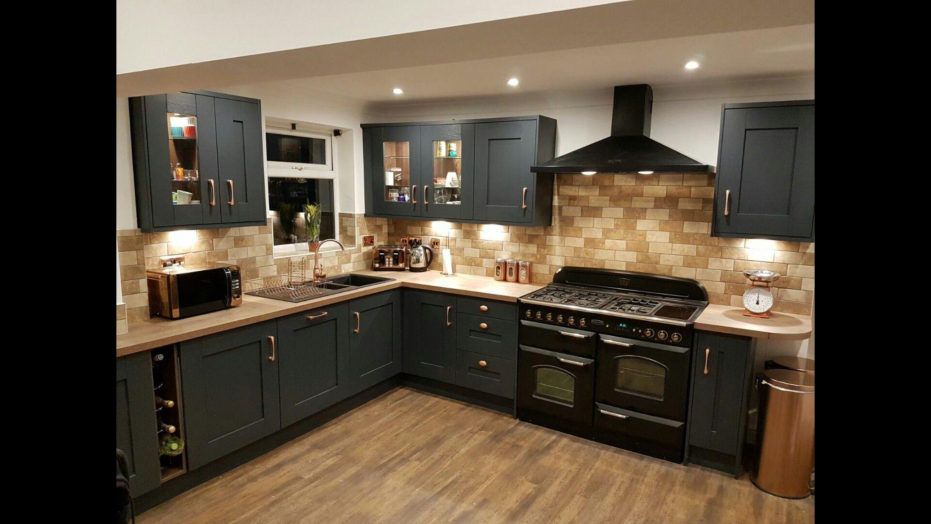 Graphite Copper Kitchen Kitchen Design Kitchen Decor Home Decor Kitchen