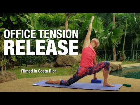 office tension release yoga class 30 min  five parks