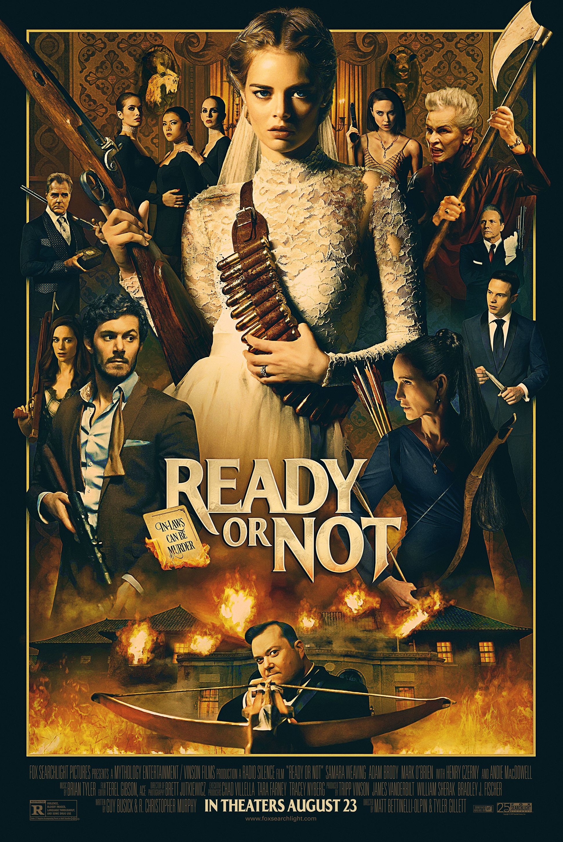 Ready Or Not Official Poster Adam brody, Full movies