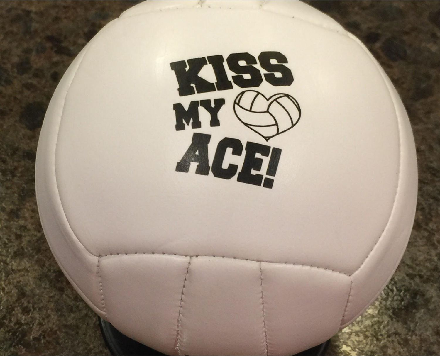 Mini Volleyballs Allow Printing On The Front And Back Cool Gift For The Coach With Images Sports Gifts Gifts Volleyball Gifts