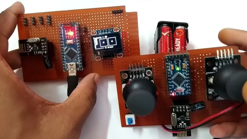 6-Channel Remote Control DIY Kit Transceiver Wireless Module for Robot//Motor