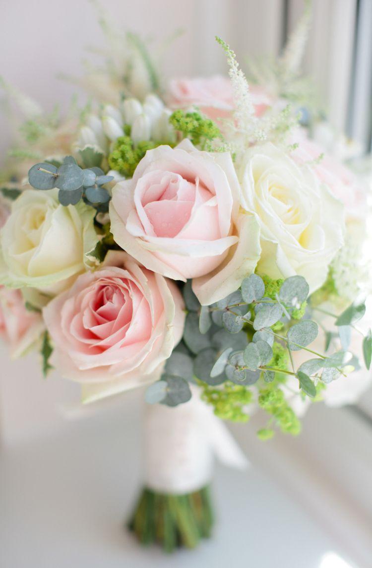 Pretty pink garden party wedding bouquets pinterest garden rose eucalyptus cream flowers bouquet bride bridal pretty pink garden party wedding http izmirmasajfo