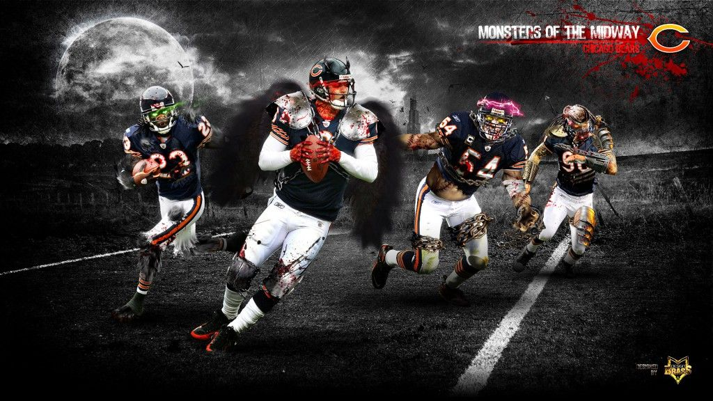 Chicago Bears Hd Wallpaper 1080p Chicago Bears Wallpaper Chicago Bears Chicago Sports