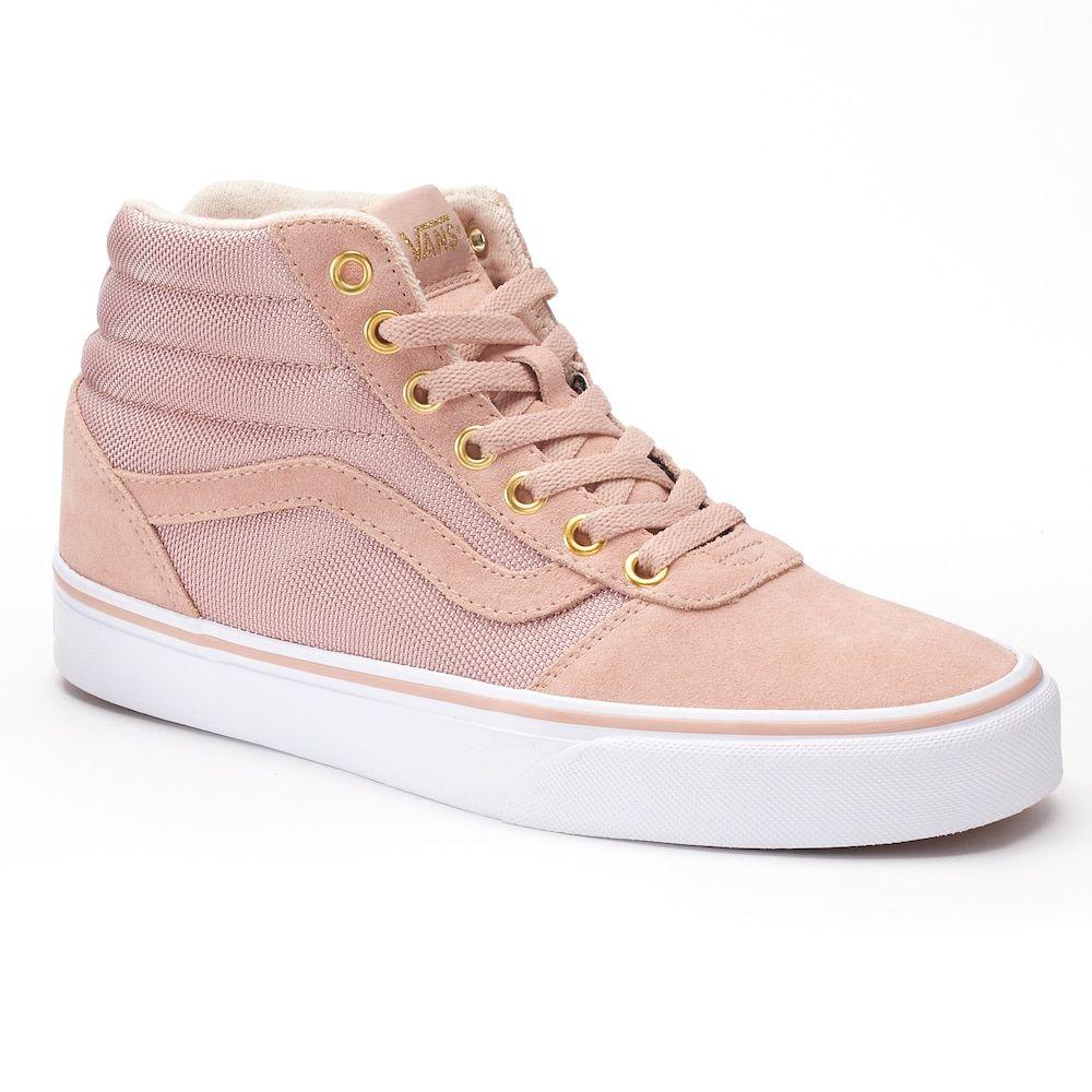 womens vans skate trainers