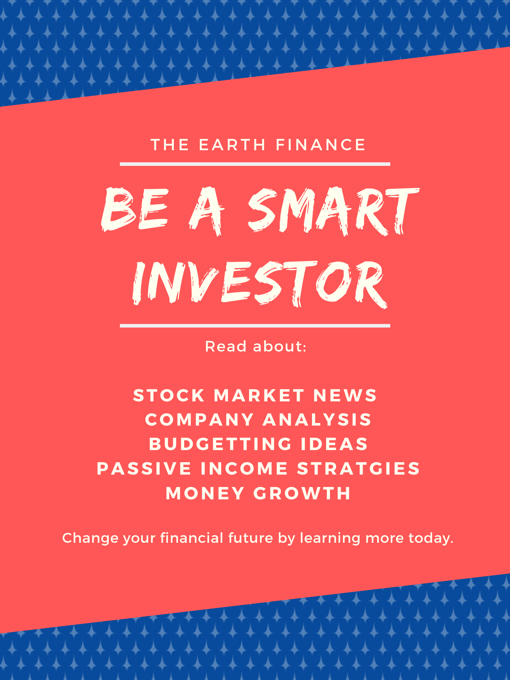 Investing for beginners can be overwhelming. Where is the best place to start? Earth Finance makes it easy to learn about stock market news, budgeting tips, passive income ideas, and so many more ways to help grow your money. If you are wondering how to start investing to create a passive income (side hustle) this is the best place to start! #money #investing #sidehustle #passiveincome #budgetting #news #dividend #robinhood