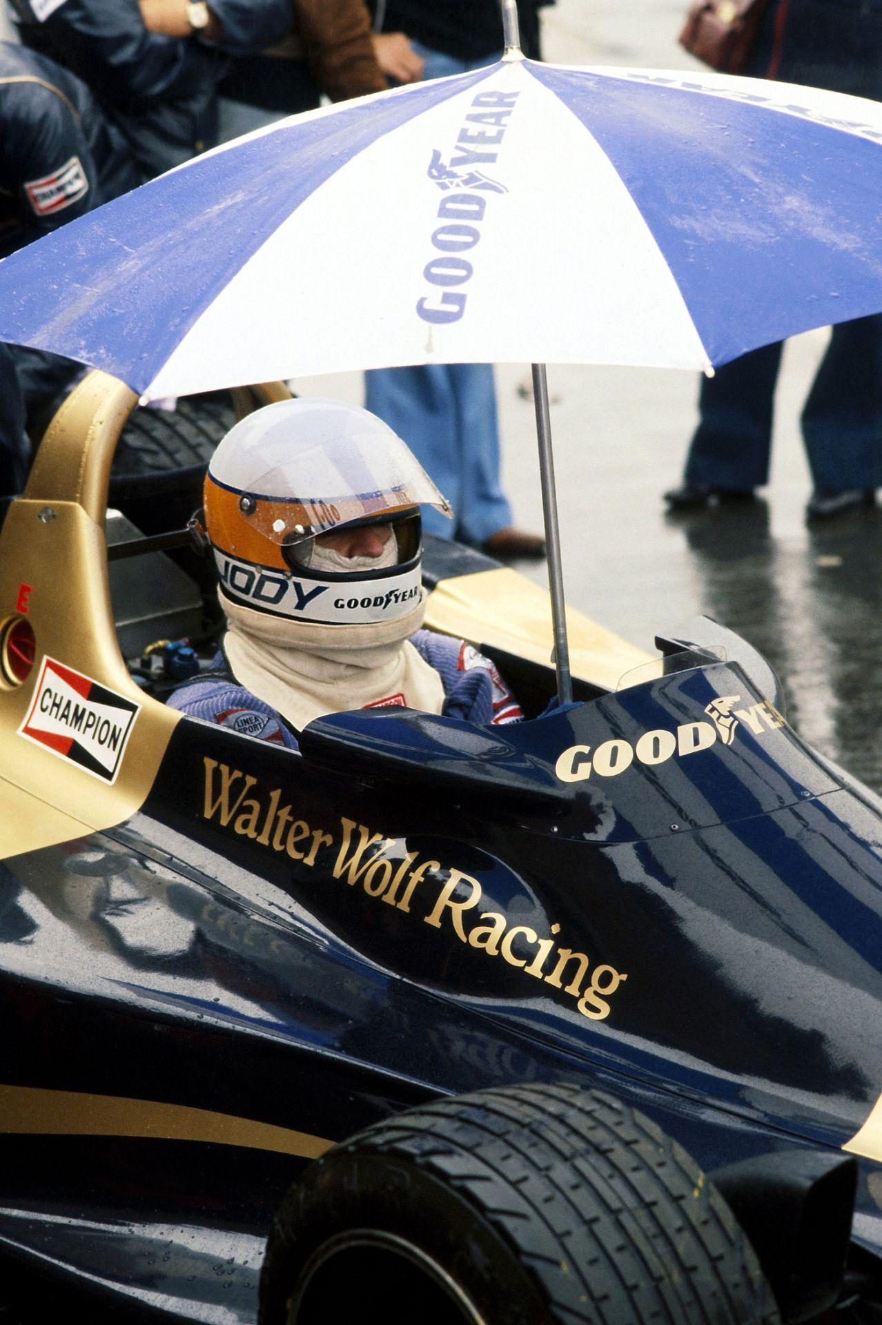 Jody Scheckter, Wolf-Ford WR3, 1977 Belgian GP, Zolder   Vintage ...