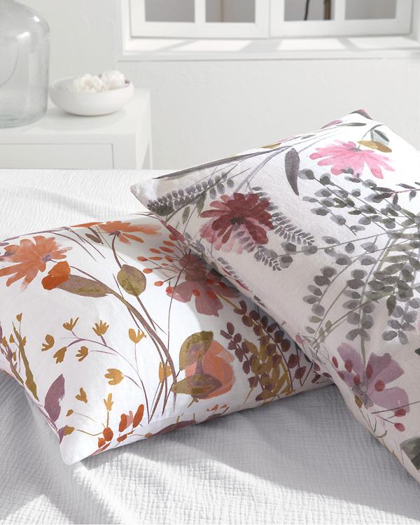 Wildflower Linen Duvet Cover Linen Duvet Covers Comforter Cover Duvet Covers