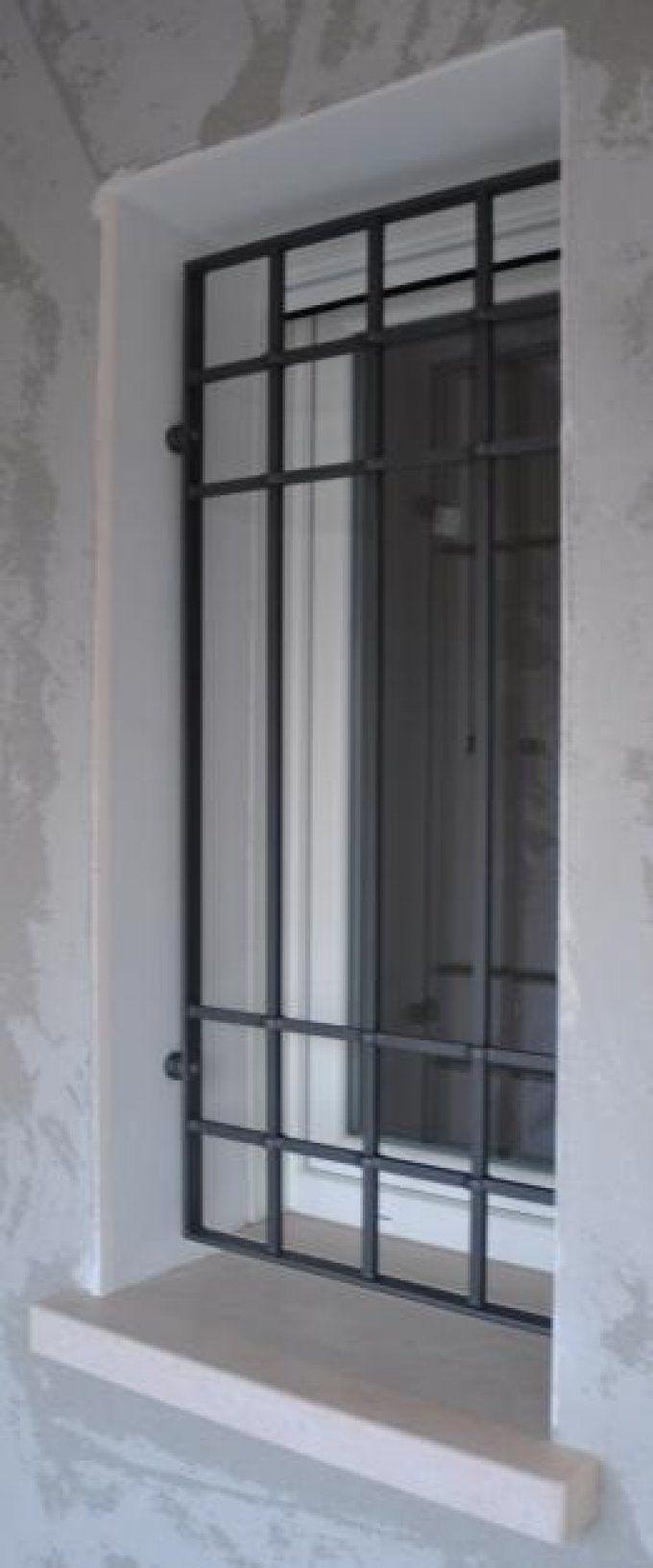 Inferriate porte protectores de ventanas rejas e puertas - Finestre a bovindo ...