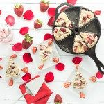 Vegan/Gluten Free Strawberries and Cream Scones