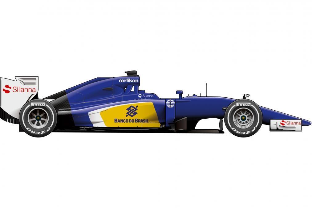 Sauber Formula 1 car 2015
