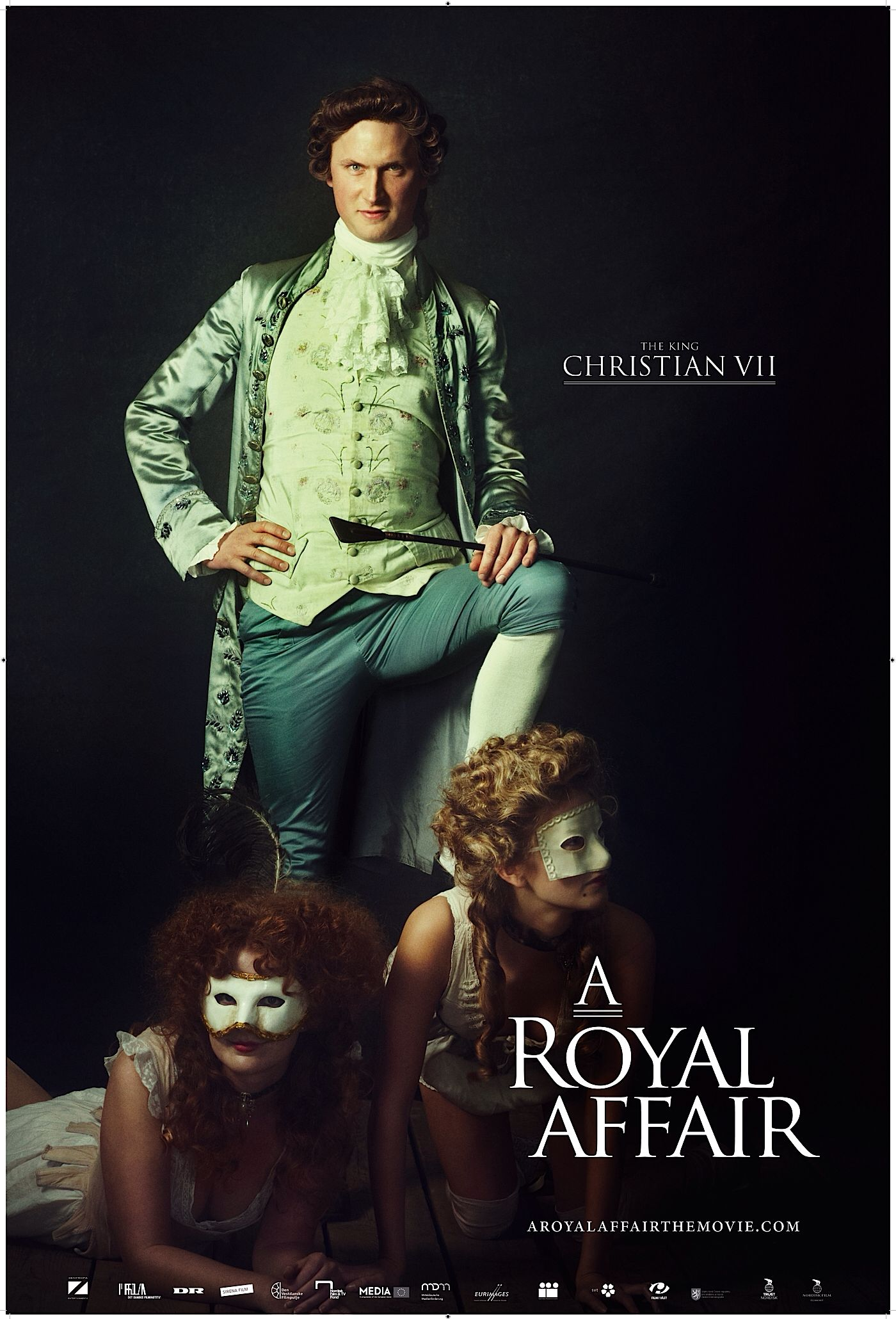 Mikkel Boe Følsgaard as Christian VII in A Royal Affair