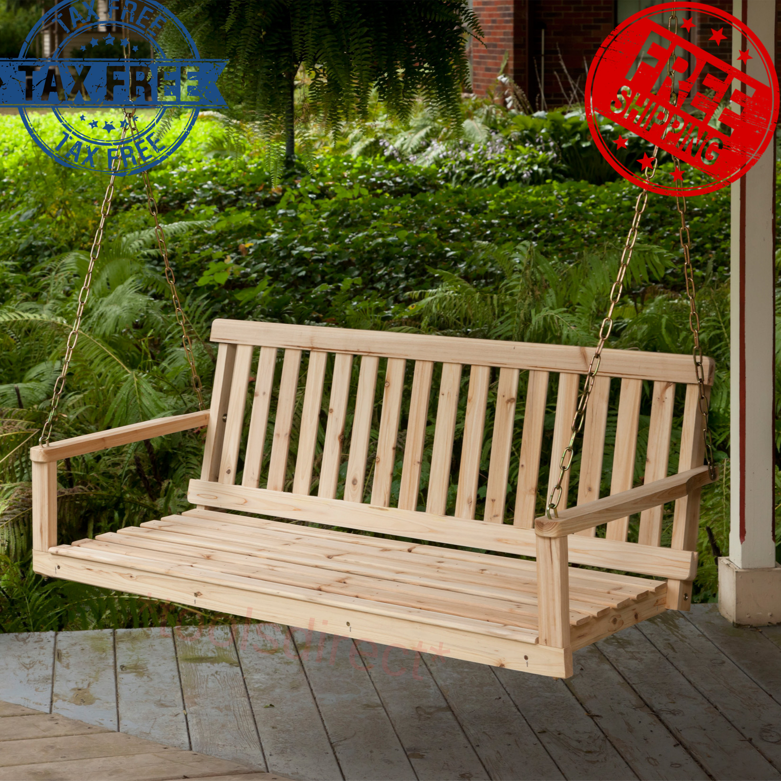 Swing Chair Hanging Bench W