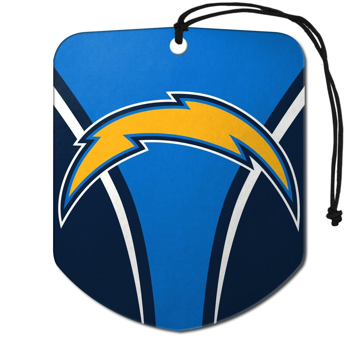 Los Angeles Chargers Air Freshener Shield Design 2 Pack Shield Design Los Angeles Chargers Air Freshener