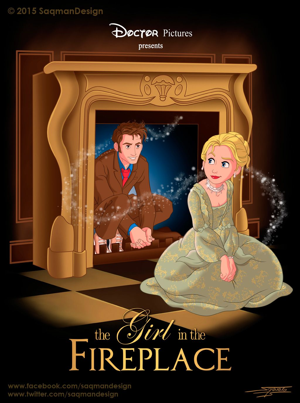 The Girl In The Fireplace, Disney style! | Doctor Who ...