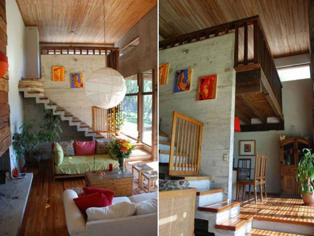 Inside tiny houses wooden house interior plans one of total photographs contemporary also creating  unique home treehouse interiors treehouses pinterest rh