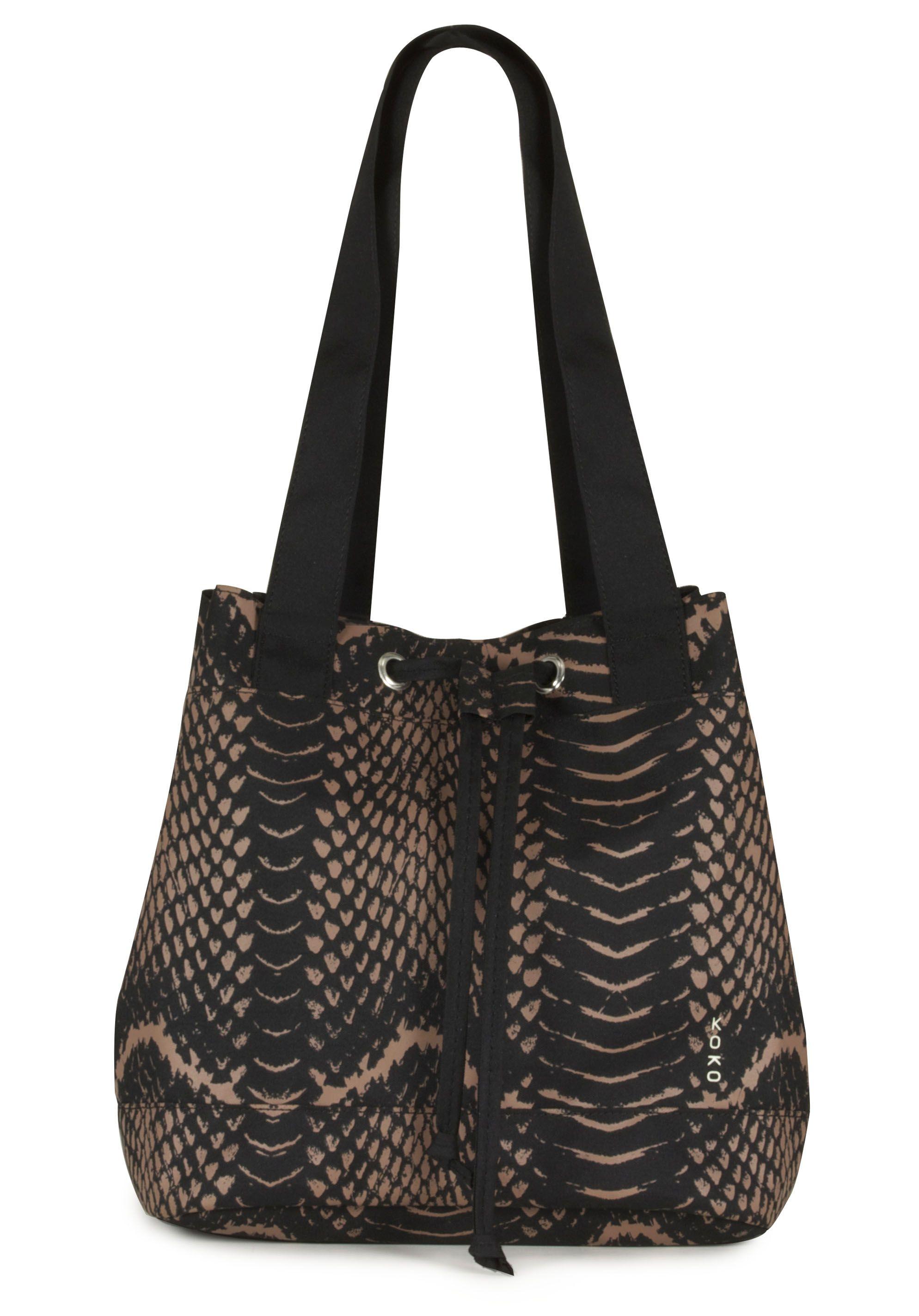 Miwa Snakeskin Insulated Lunch Bag By Koko