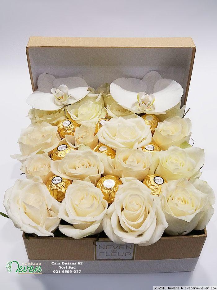Roses Ferrero In A Box Casamento