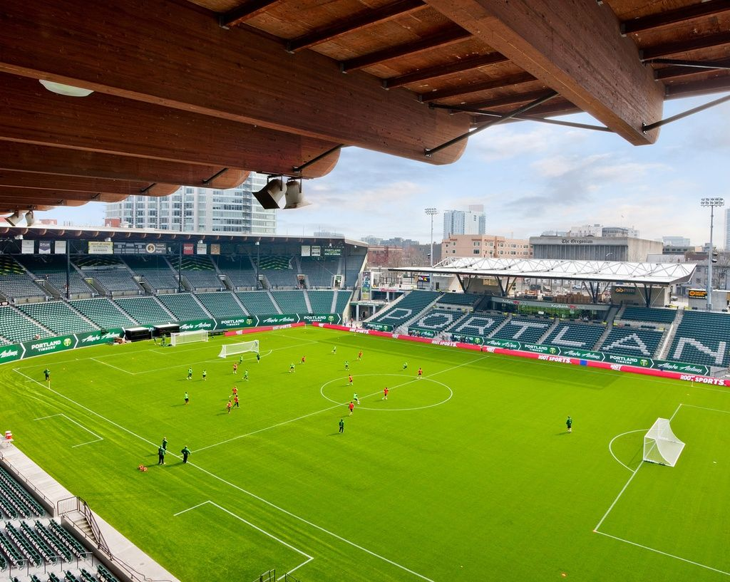 Jeld Wen Field Renovation Wins Merit Award Programs Aia San Francisco Stadium Architecture Soccer Stadium Football Stadiums